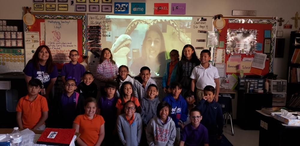 Jenny B - Skype Science Class