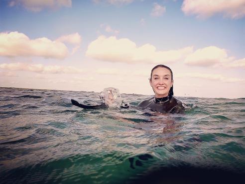 Liz Free Diving